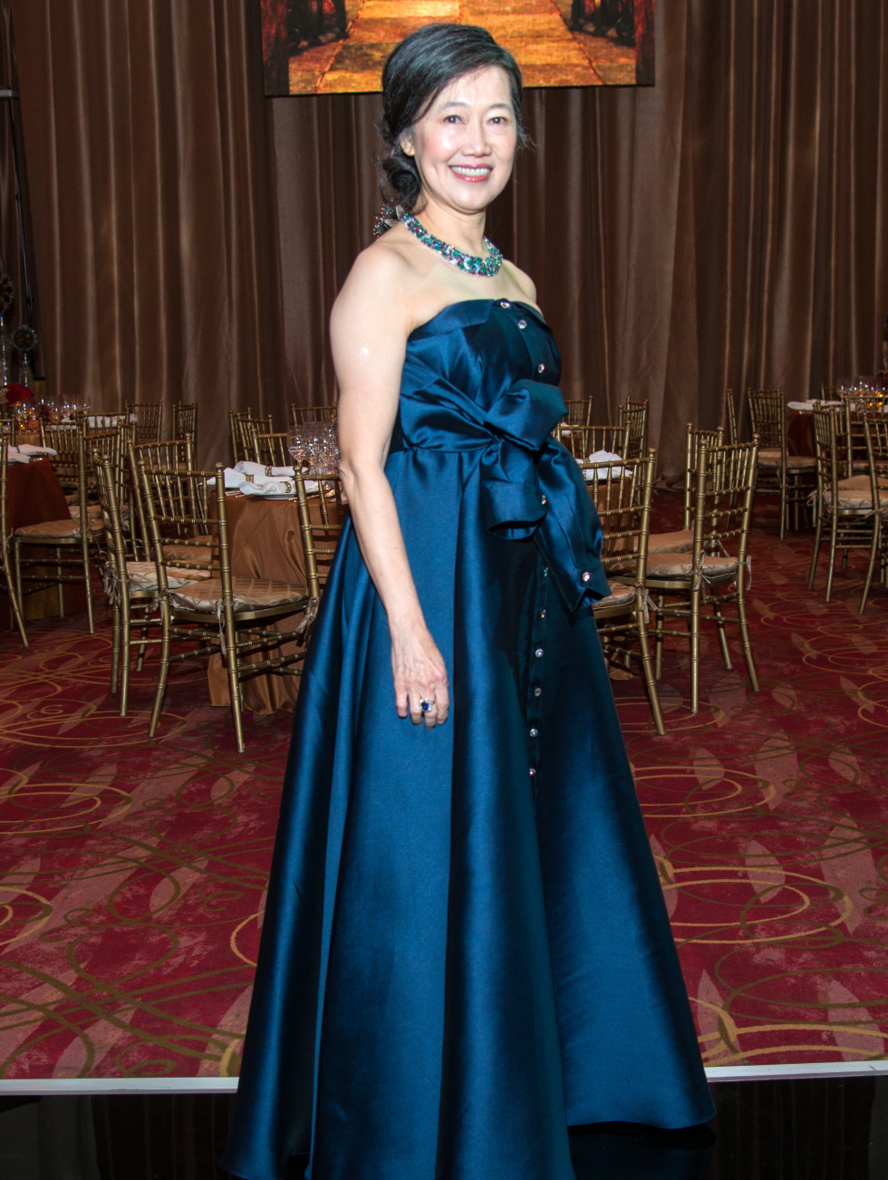 Houston, Ballet Ball gowns, Feb 2017, Anne Chao in Alexis Mabille
