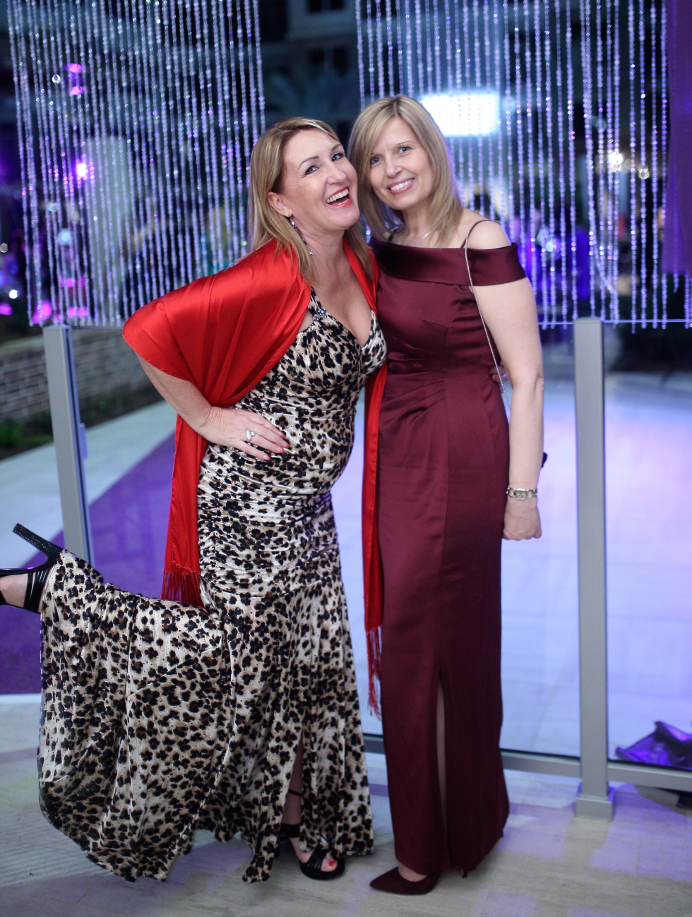 Houston, Big Brothers Big Sisters YP The Big Prom, Feb 2017, Rozi Turnbull, Ellie Ronciman