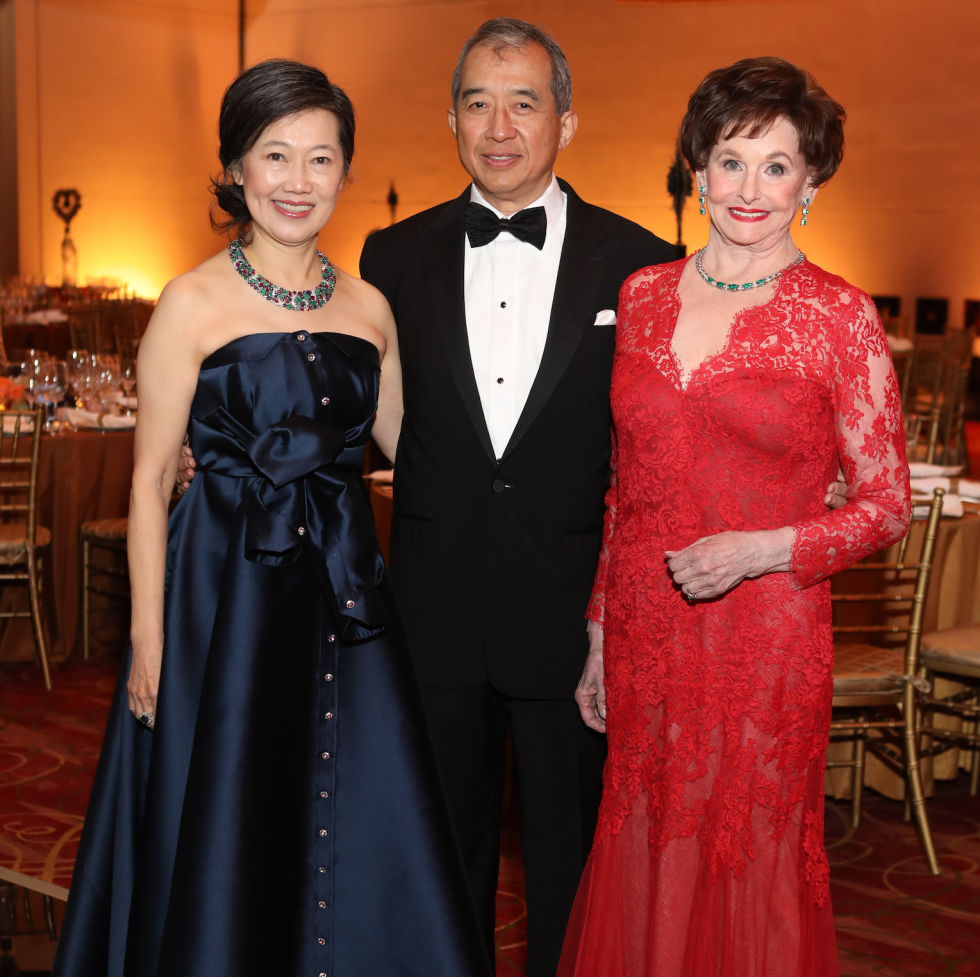 Houston, Ballet Ball social story, March 2017, Anne Chao, Albert Chao, Ann Trammell