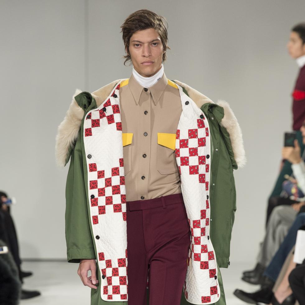 Calvin Klein fall 2017 look 44 men