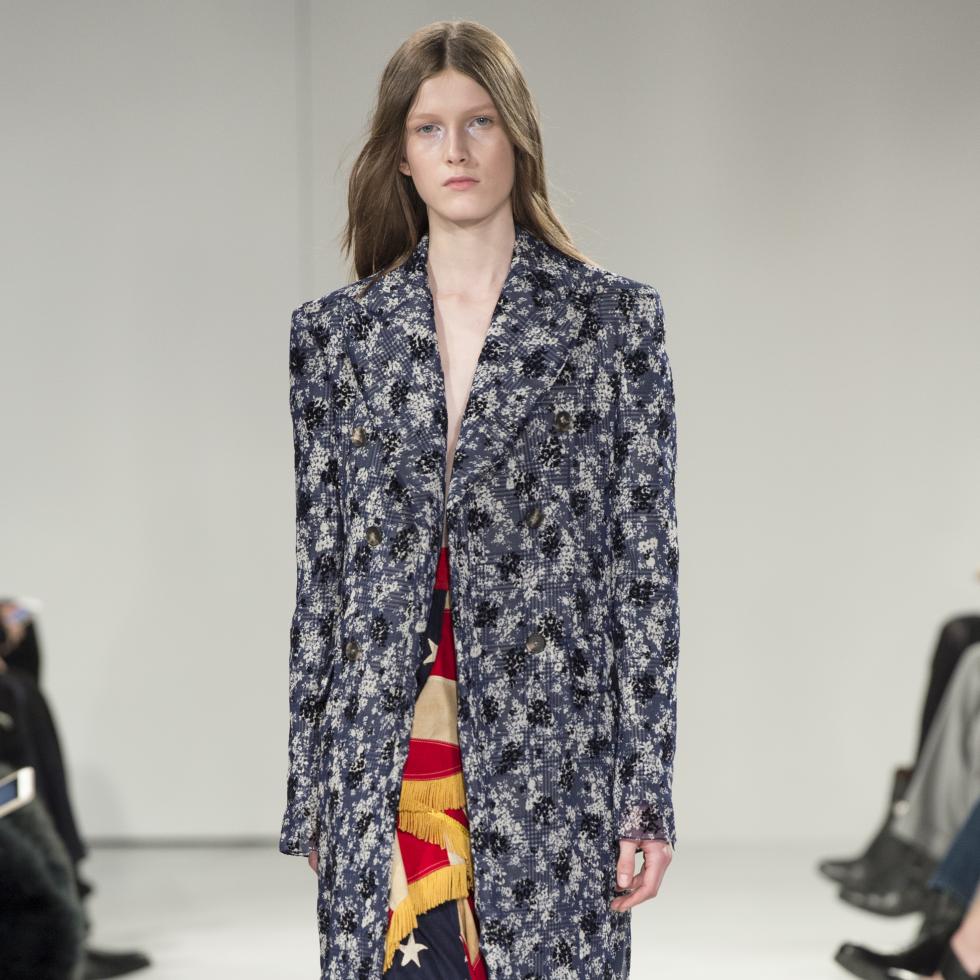 Calvin Klein fall 2017 look 30 women