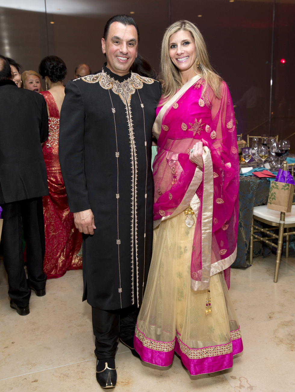 Houston, Tiger Ball, March 2017, Devinder Bhatia, Gina Bhatia