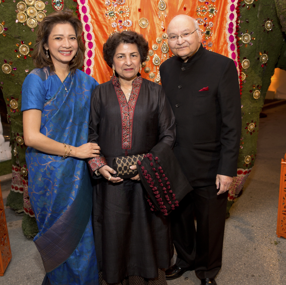 Houston, Tiger Ball, March 2017, Bonna Kol, Nalini Mathur, Dr. Virendra Mathur
