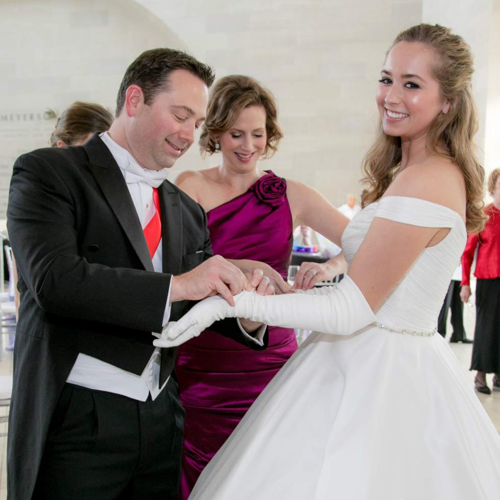 Jason and Laura Downing with Debutante daughter Caroline