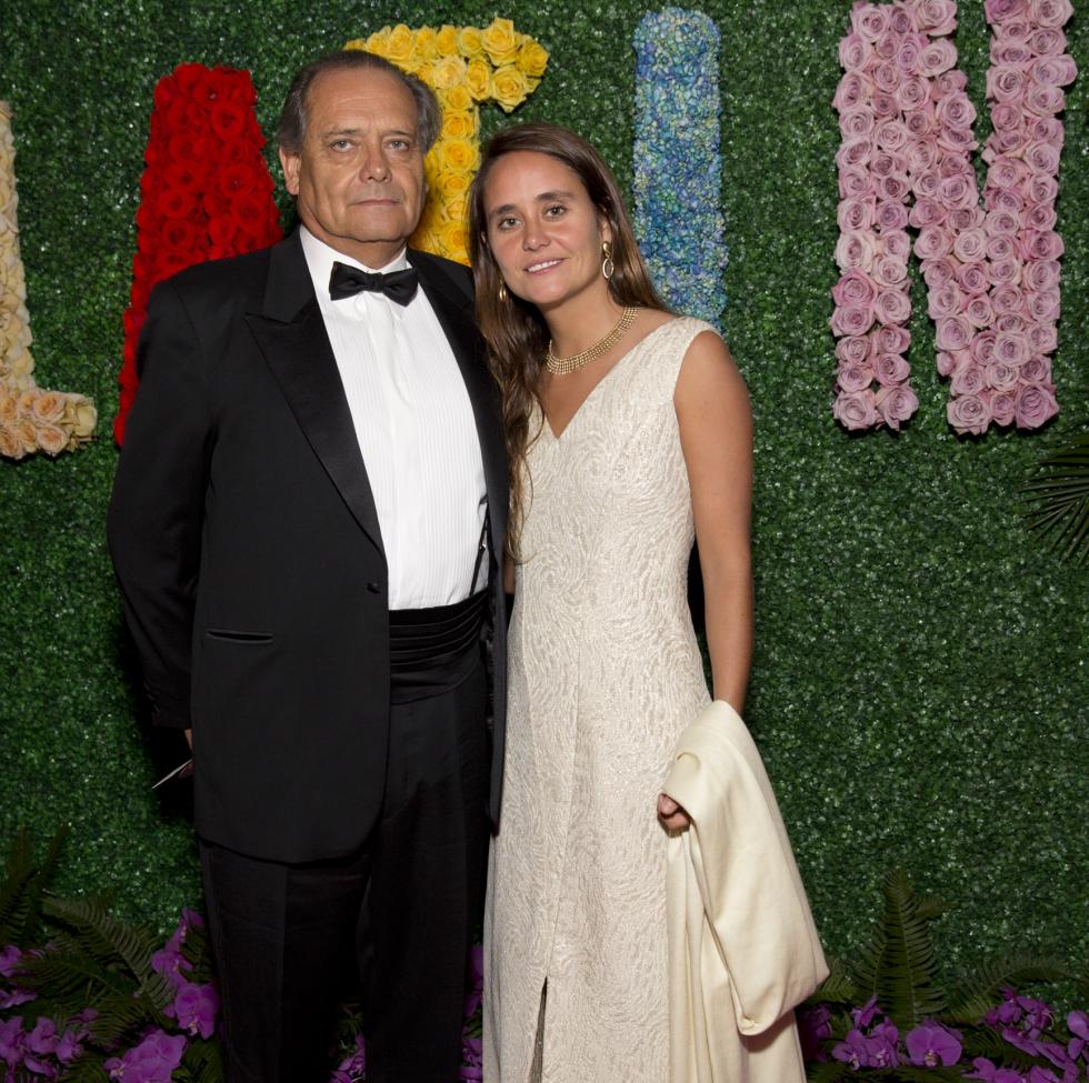 Carlos Cruz Puga, Antonia Cruz at Latin American Gala