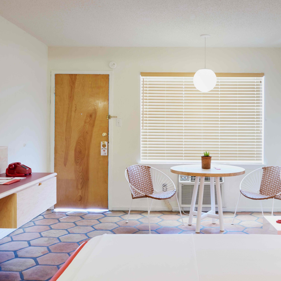 Austin Motel 2017 guest room
