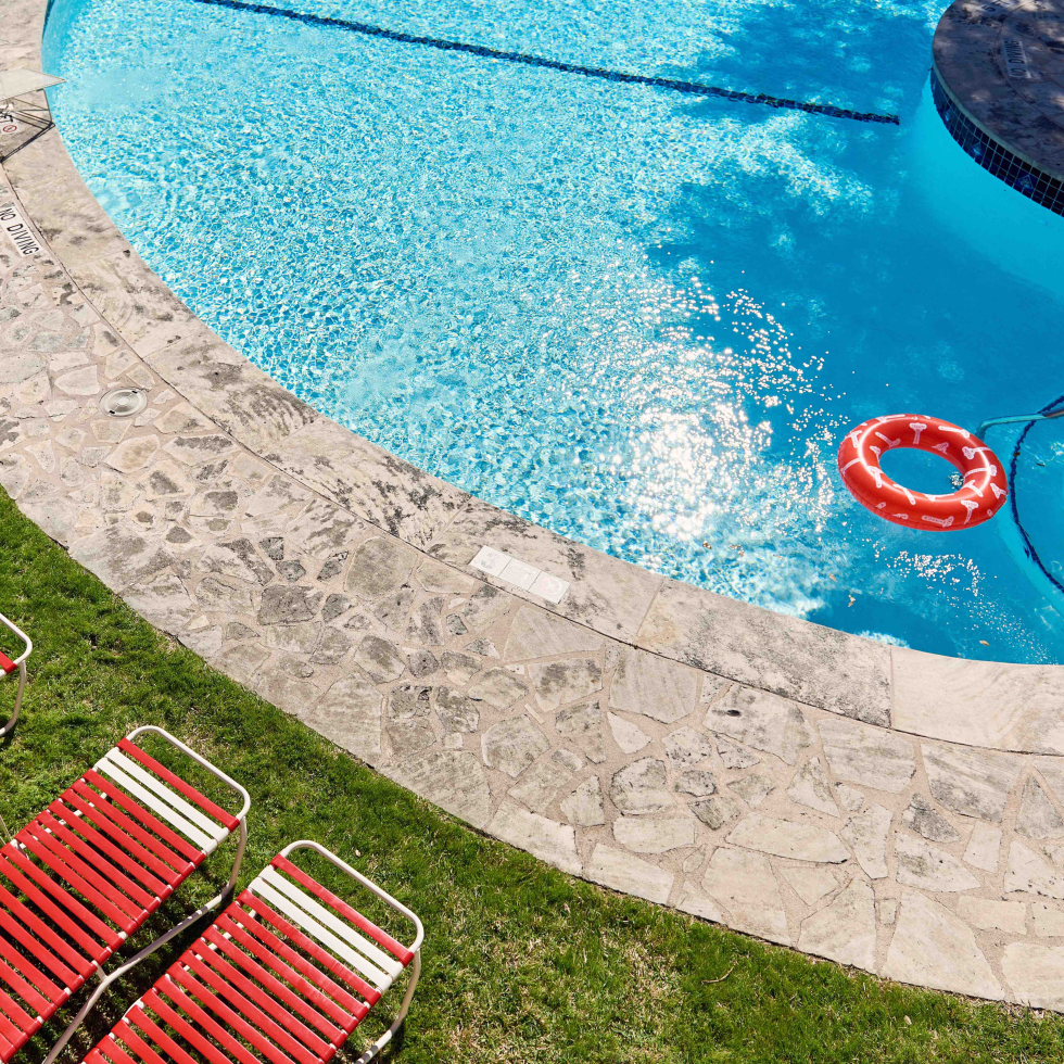 Austin Motel 2017 pool