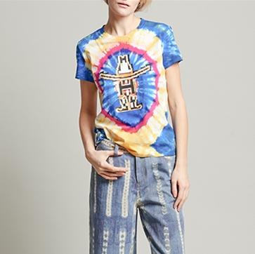 Vivienne Tam Houston rodeo tie-dye T-shirt