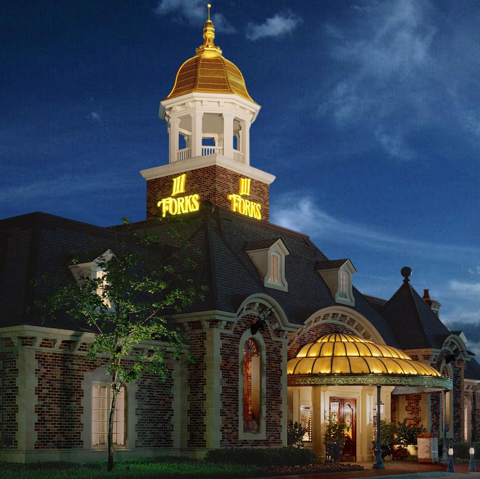 III Forks steakhouse in Dallas