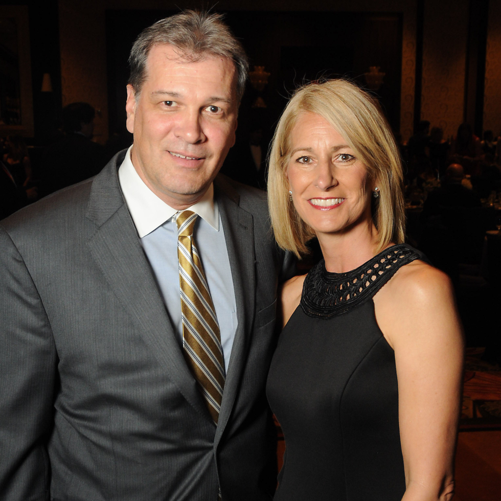 Michelle Hickl, Bill Hickl at Kickstart Gala