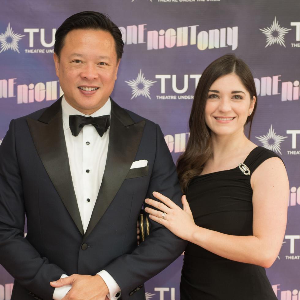 Nick Tran, Vaalerie Tran at 2017 TUTS Dreamgirls Gala