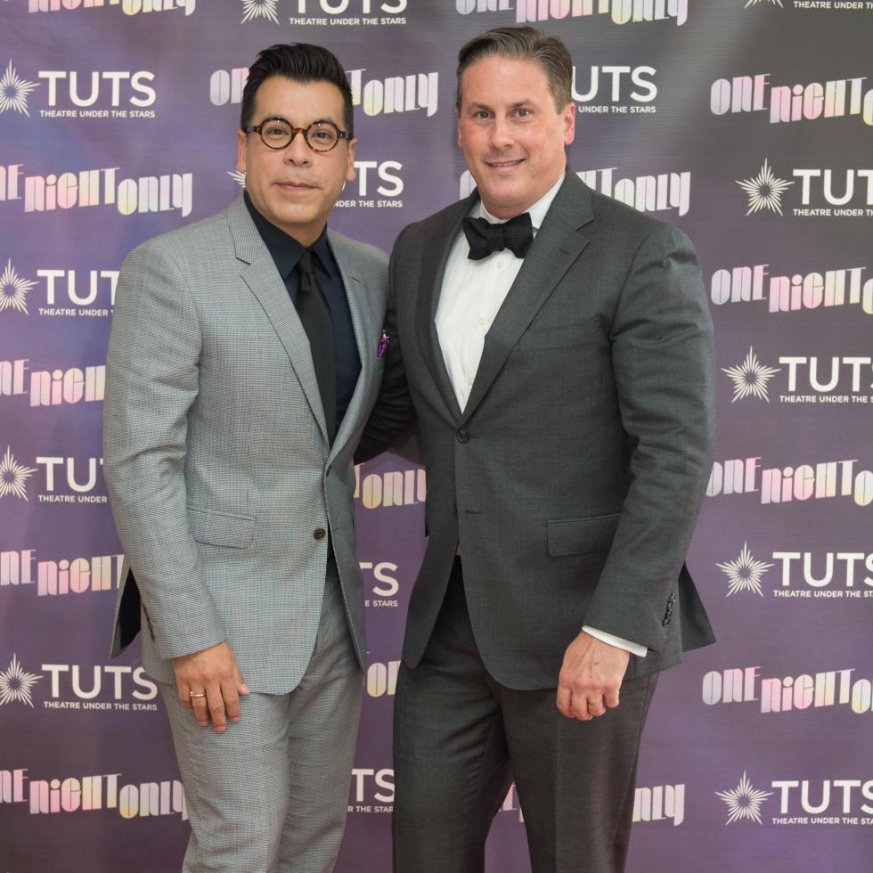 Jay Landa, Daniel Turner at 2017 TUTS Dreamgirls Gala