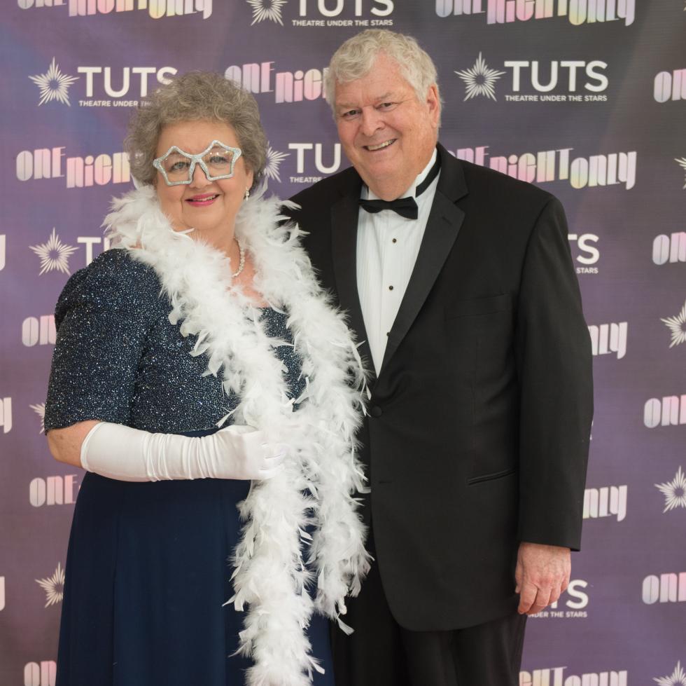 Deborah and Adrian Shelley at 2017 TUTS Dreamgirls Gala