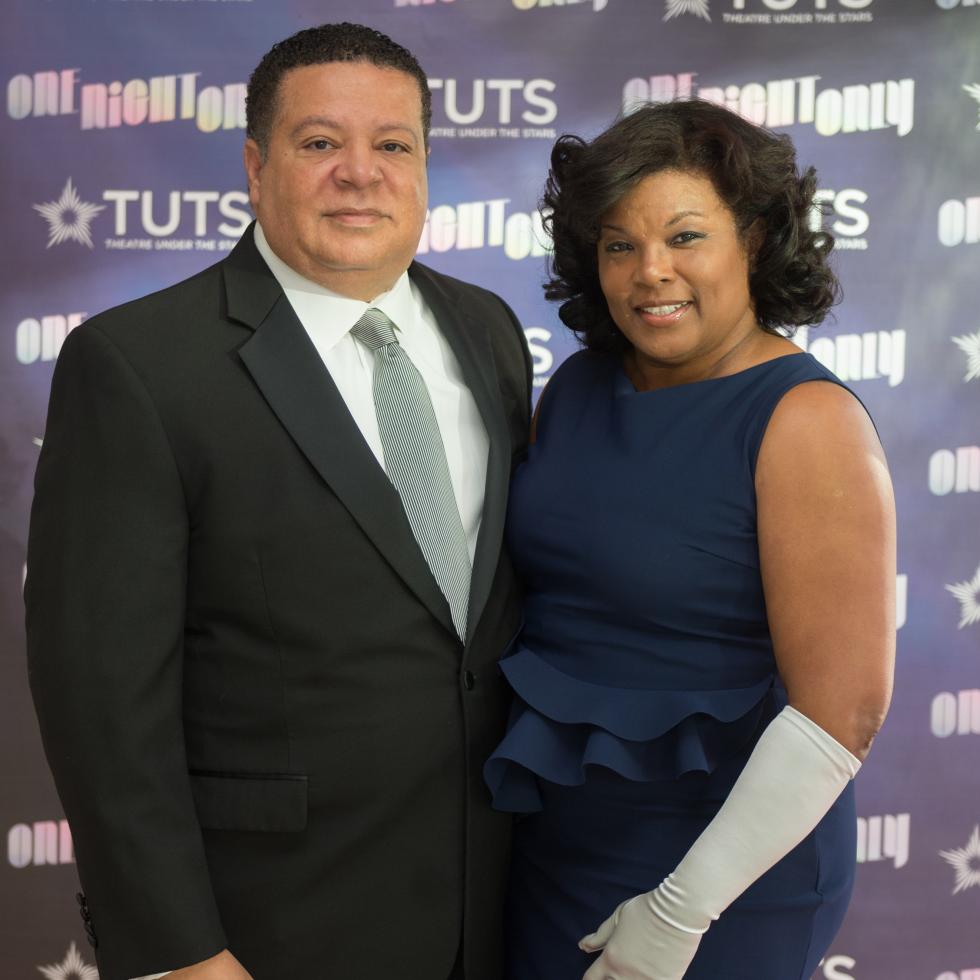Frank and Demetra Jones at 2017 TUTS Dreamgirls Gala