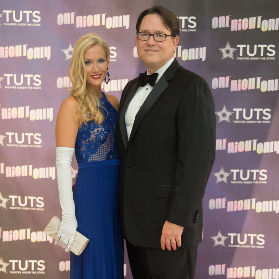 Brenda and Kendall Hollrah at 2017 TUTS Dreamgirls Gala