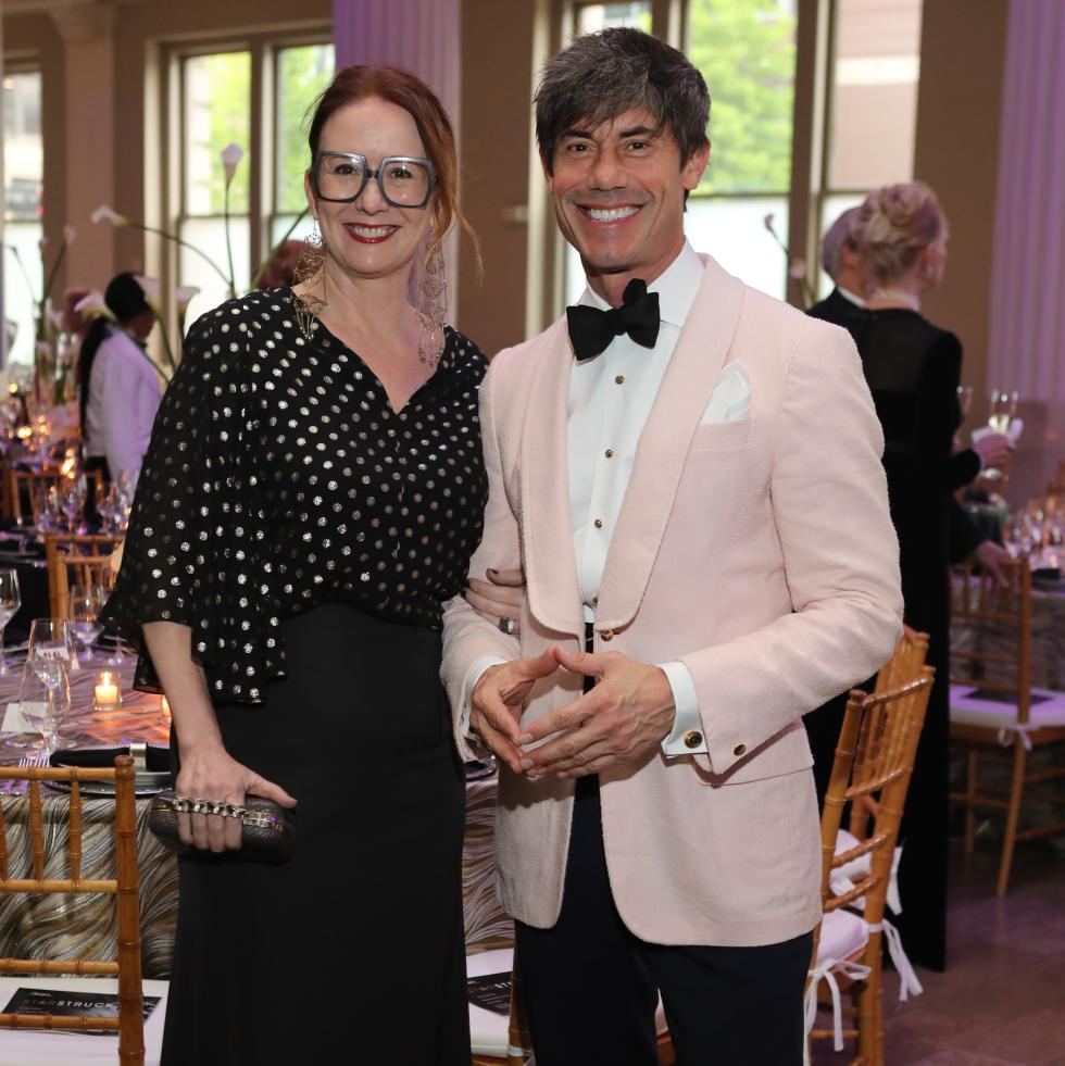 Rebekah Johnson, Milton Townsend at Stages Gala 2017