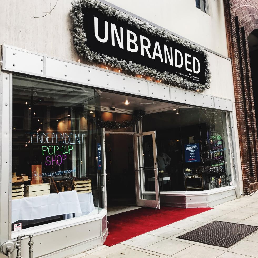 Unbranded pop-up 2016