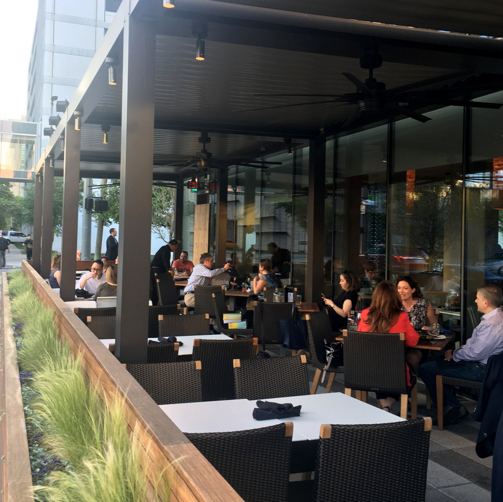 Houston, new patios, April 2017, Xochi