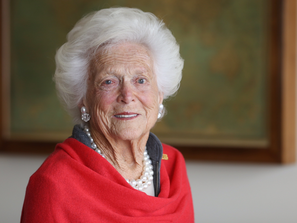 News, Shelby, Barbara Bush, Nov. 2015