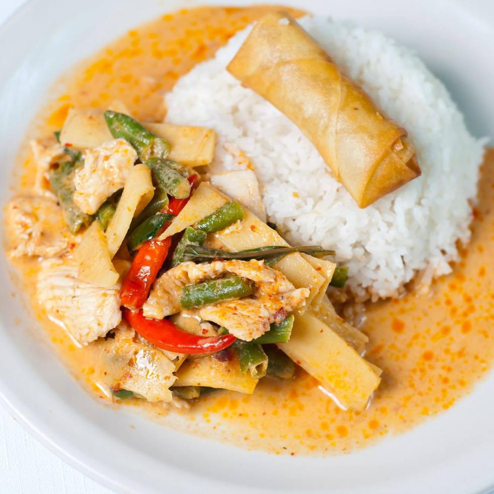 Thai Topaz red curry