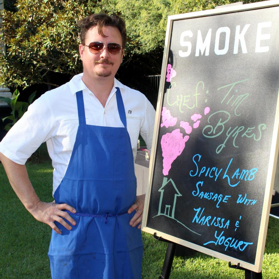 Chef Tim Byres of Smoke, DIFFA