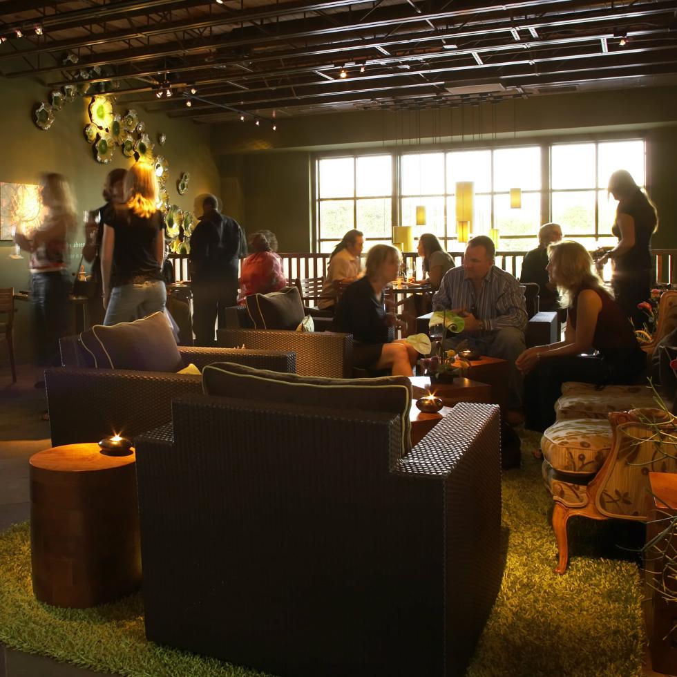 Interior of Shinsei restaurant in Dallas