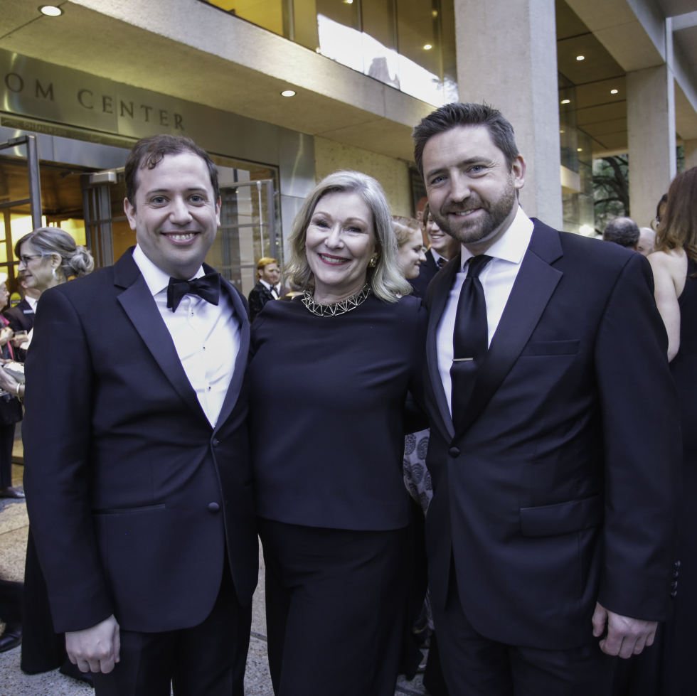 Ransom Center World of Wonders Gala 2017 Eric Colleary Kate O'Toole Adrian Garrell