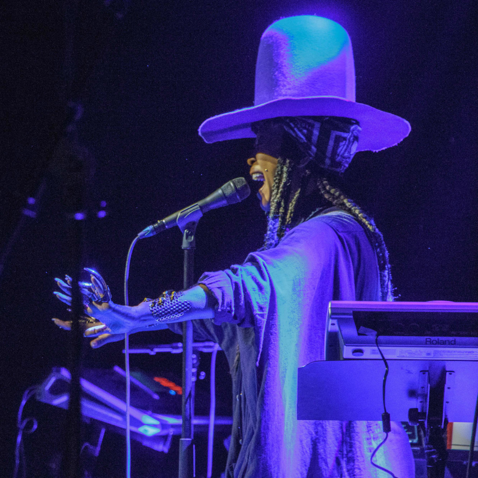 Erykah Badu at Bomb Factory in Deep Ellum