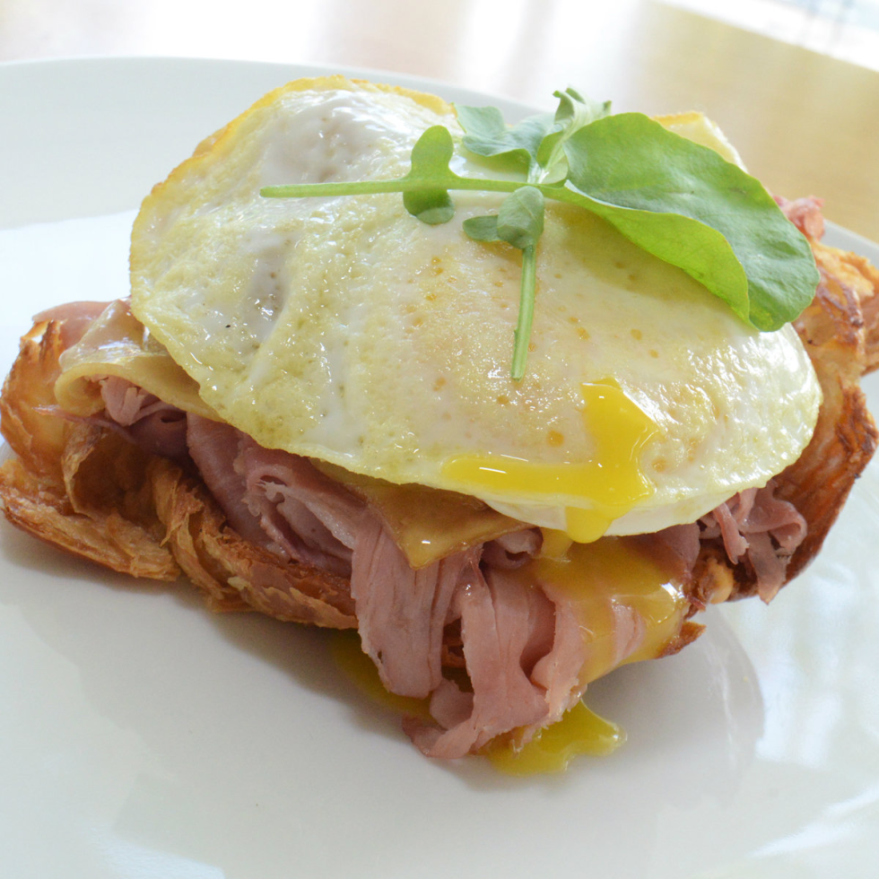 The Croque sandwich