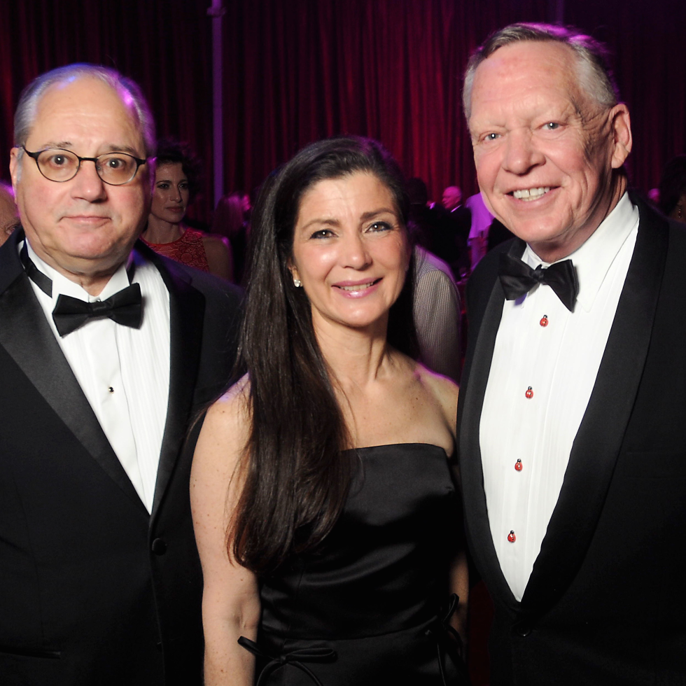 Anthony Petrello, Cynthia Petrello, Richard Flowers at Alley Theatre Ball