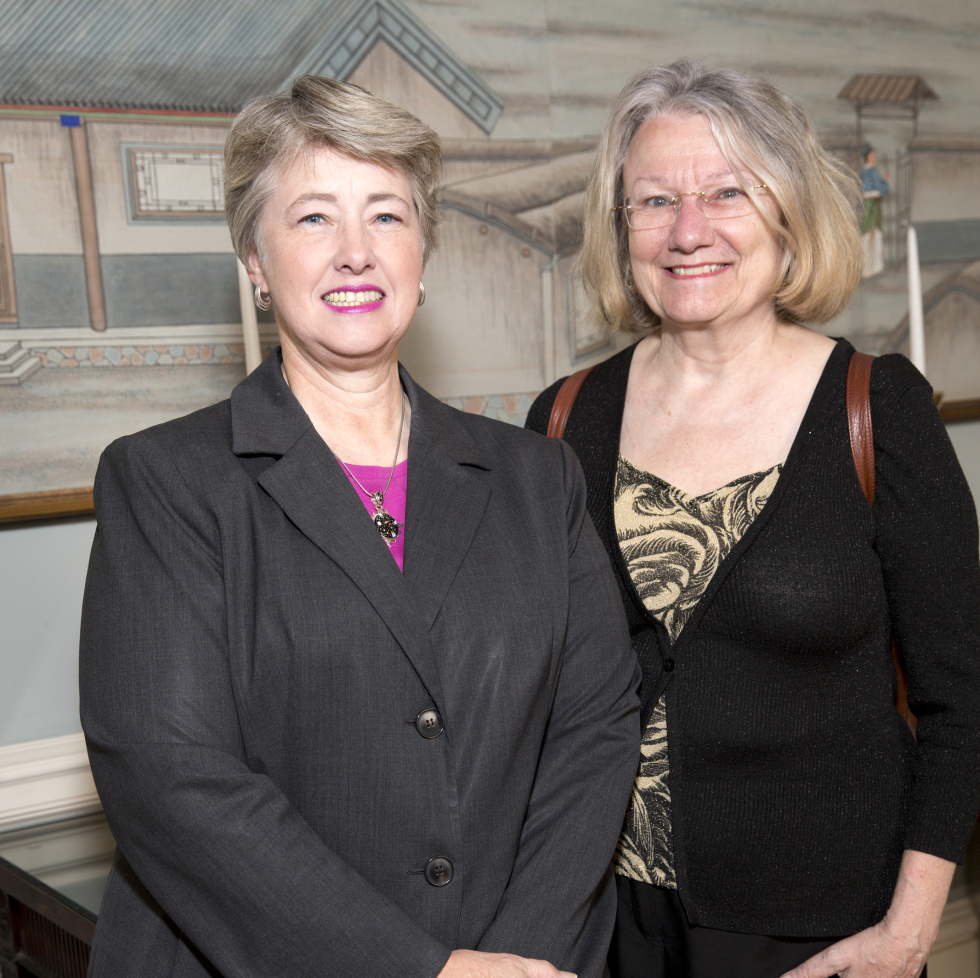 Houston, Spaulding for Children luncheon, May 2017, Annise Parker, Kathy Hubbard
