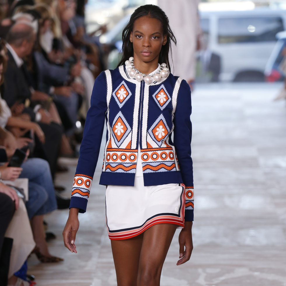 Tory Burch spring 2017 collection look 25