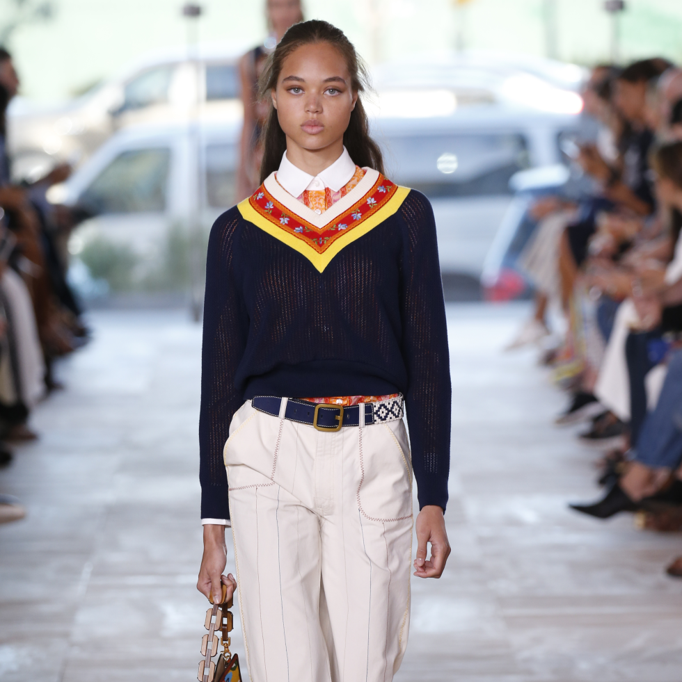 Tory Burch spring 2017 collection look 28