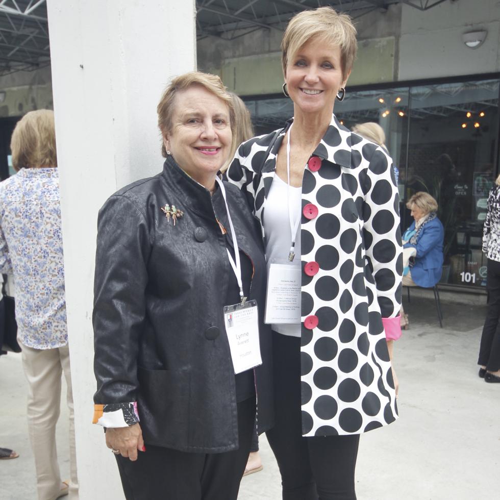 Texas Women for the Arts Meeting 2017 Lynne Averett Mona Knopp