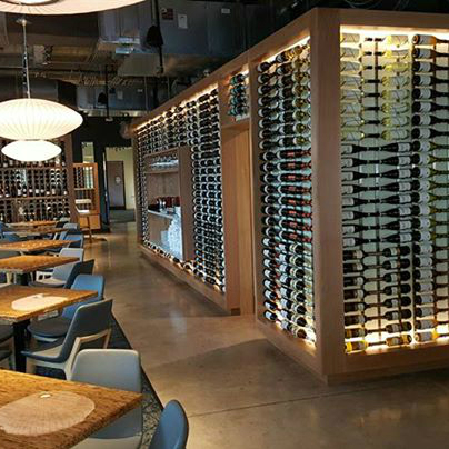 The Grove Wine Bar and Kicthen Austin restaurant downtown location interior 2015