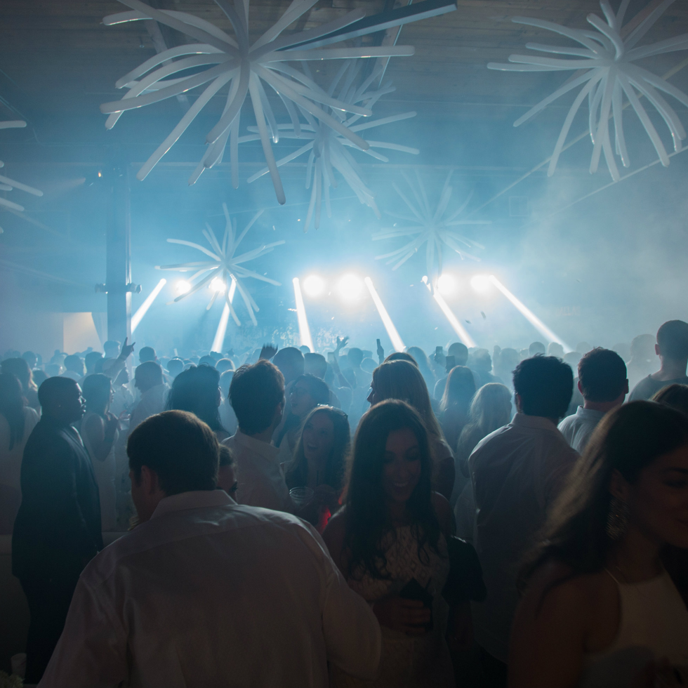 Young Friends of Wilkinson Center White Party 2016
