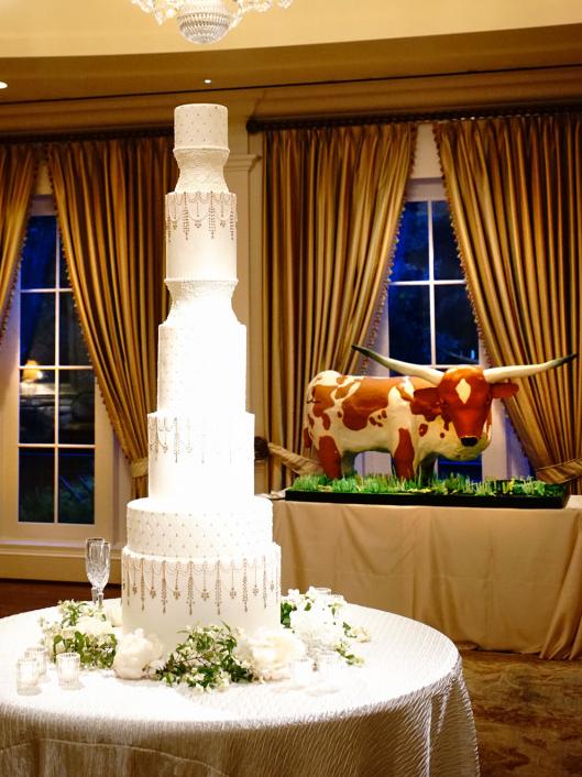 Houston, Chita Johnson wedding, June 2016, wedding cakes