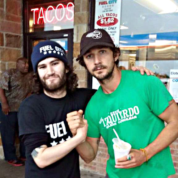 Shia LaBeouf at Fuel City in Mesquite