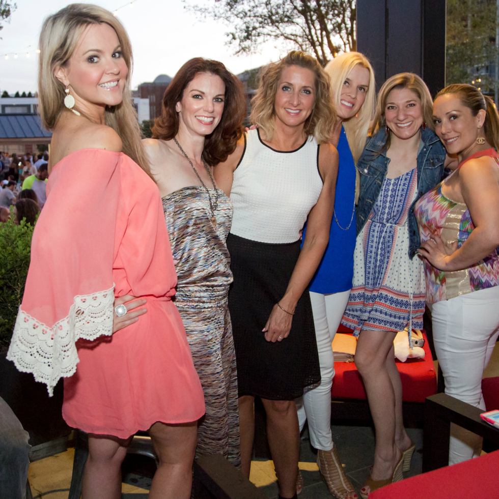 Megan Blessing, Angela Jones, Chrystie Trimmell, Heidi Meier, Amber Booth, Kelley Gonzalez