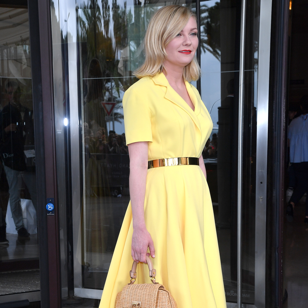 Kirsten Dunst in Dior at Cannes Film Festival