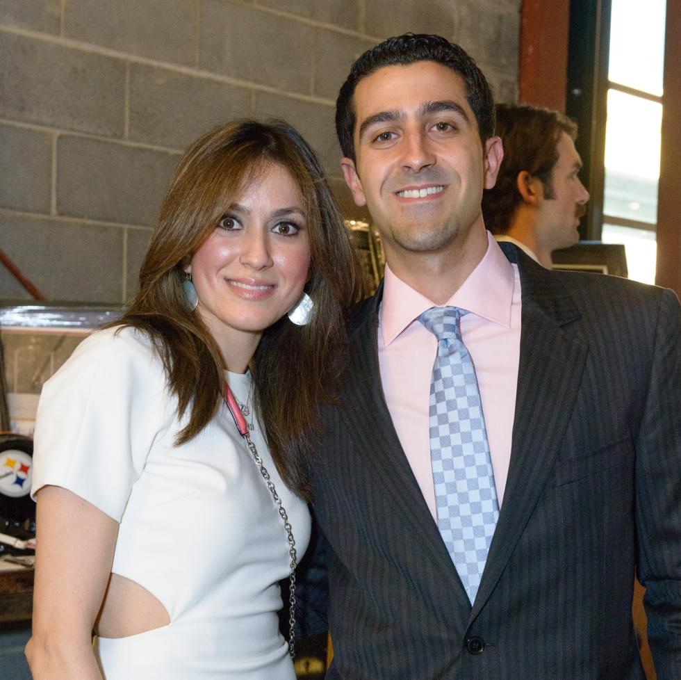 Project 88 gala, 4/16, Heidi Kashani, Andy Saberioon