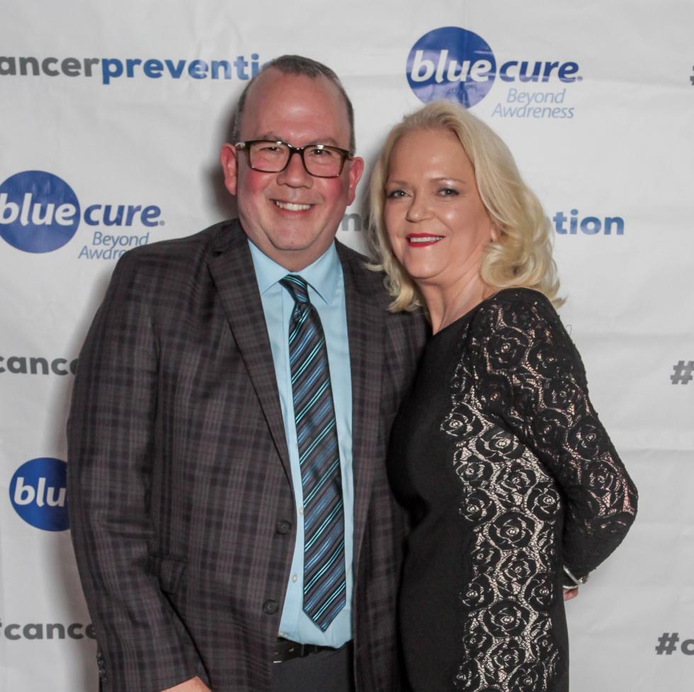 Blue Cure Gala, April 2016, Chree Boydstun
