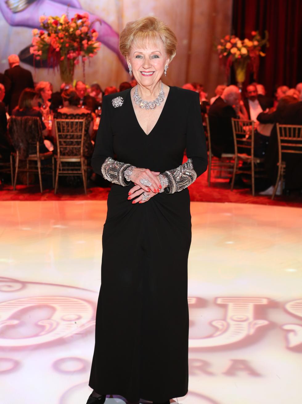 Houston, Opera Ball Gowns, April 2016, Marguerite Swartz in Alexander McQueen