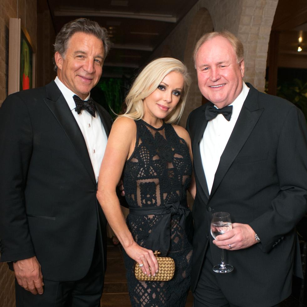 Van Cleef & Arpels party, April 2016, Steve Wyatt, Joyce Echols, Gary Petersen