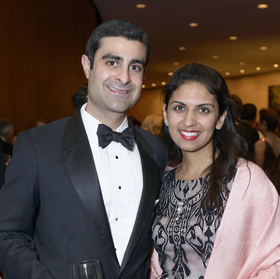Symphony Wine Dinner, April 2016, Cyrus Irani, Lillian Irani