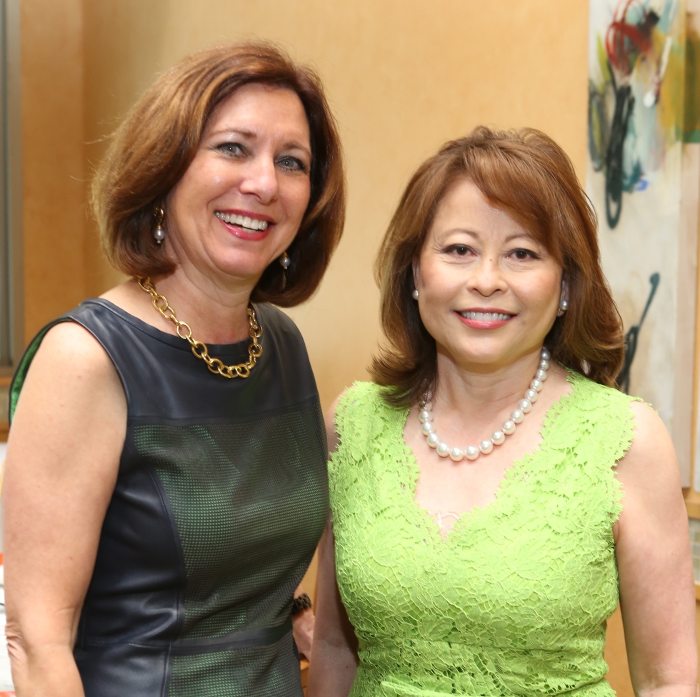 HGO Ball luncheon, March 2016, Joan Marshak, Rini Ziegler