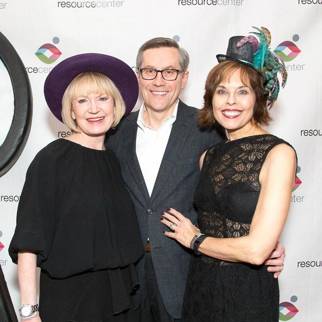 Carol Meyer, Glen Davison, Deborah McMurray