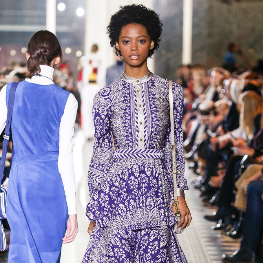 Tory Burch fall 2016 collection Look 14