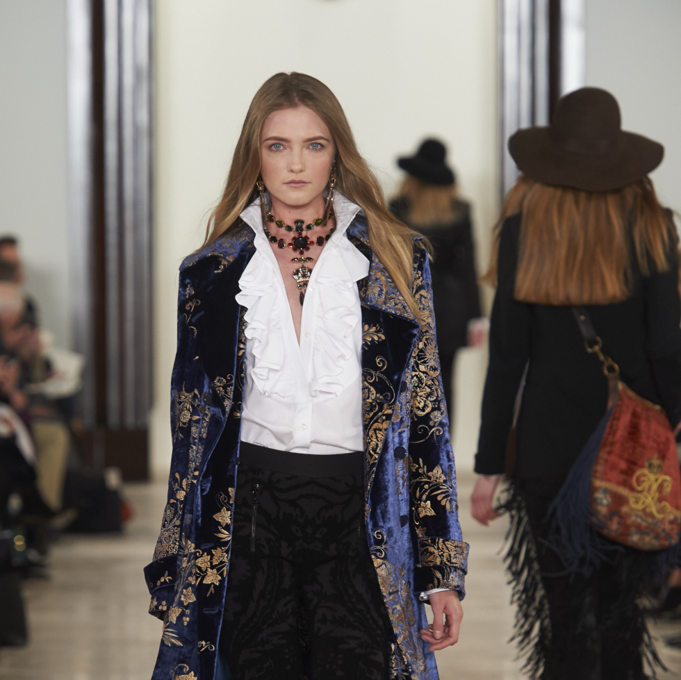 Ralph Lauren fall 2016 collection Look 28