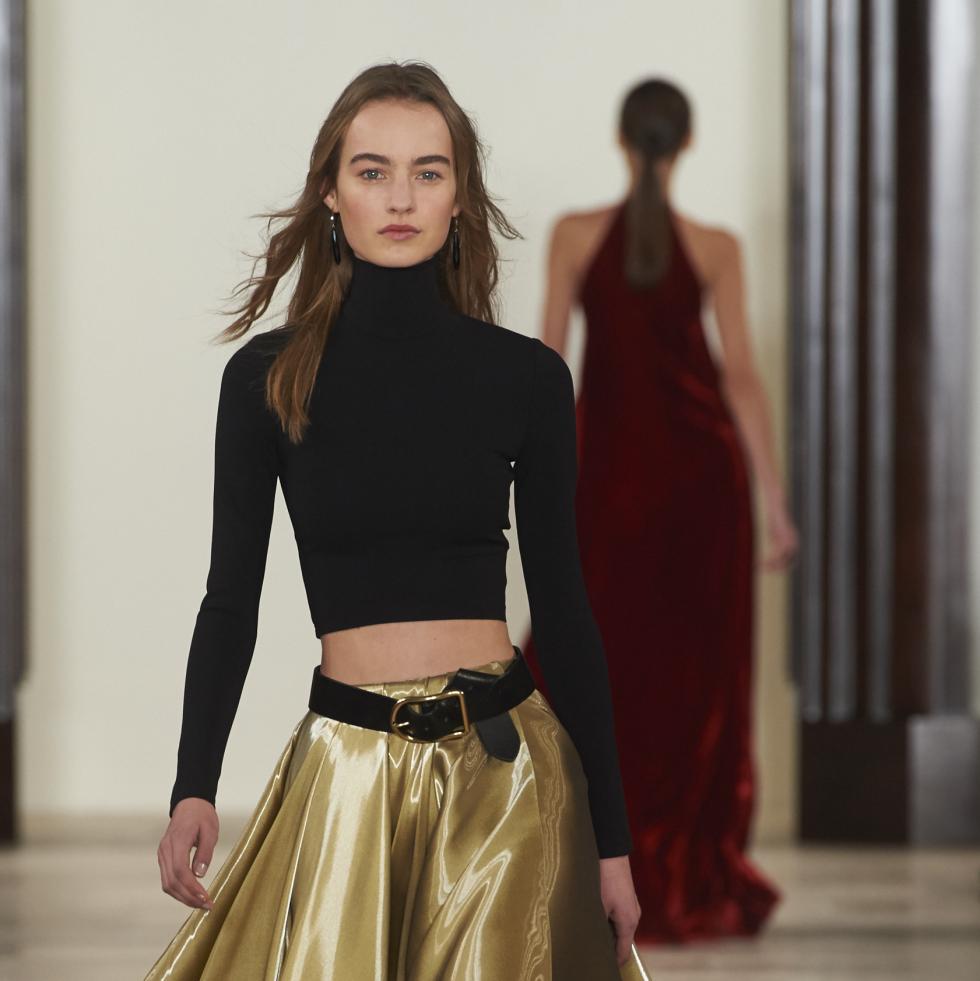Ralph Lauren fall 2016 collection Look 46